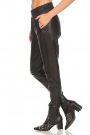Dante 6 |  Leather pants Moji | black  | Picture 4