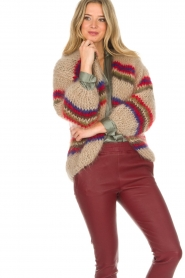 Les tricots d'o |  Wool cardigan Lola | natural  | Picture 6