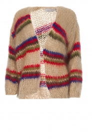 Les tricots d'o |  Wool cardigan Lola | natural  | Picture 1