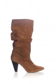 Toral | Hoge leren laarzen Ally | camel  | Afbeelding 1