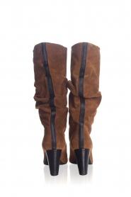 Toral | Hoge leren laarzen Ally | camel  | Afbeelding 4