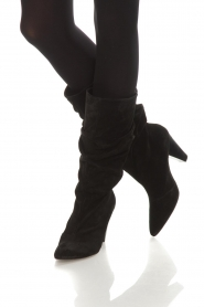 Toral |  High leather boots Ally | black  | Picture 3