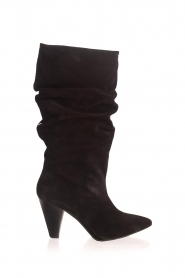 Toral |  High leather boots Ally | black  | Picture 1