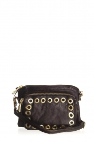 Depeche |  Leather shoulder bag Mila | black  | Picture 1