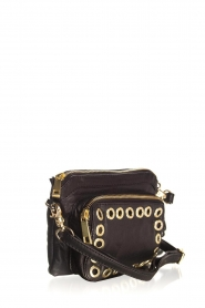Depeche |  Leather shoulder bag Mila | black  | Picture 3