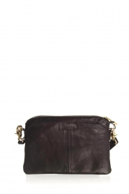 Depeche |  Leather shoulder bag Mila | black  | Picture 4