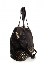 Depeche |  Leather shoulder bag Emma | black  | Picture 4