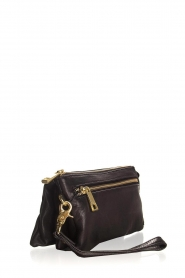 Depeche |  Leather shoulder bag Romy | black  | Picture 3