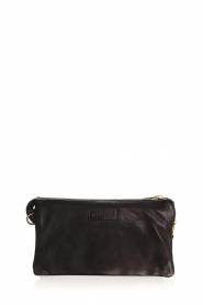 Depeche |  Leather shoulder bag Romy | black  | Picture 4