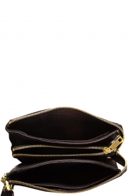 Depeche |  Leather shoulder bag Romy | black  | Picture 5