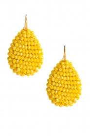 Miccy's |  Earrings Flat Drops | yellow  | Picture 2