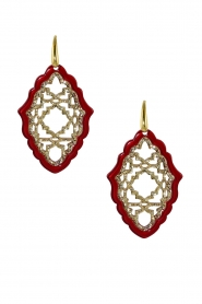 Miccy's |  Earrings Azizi | red  | Picture 2