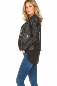 Dante 6 |  Leather biker jacket Osiris | black  | Picture 4