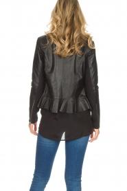 Dante 6 |  Leather biker jacket Osiris | black  | Picture 5