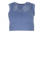 Varley |  Sports bra with cut-out details Langley | blue  | Picture 1