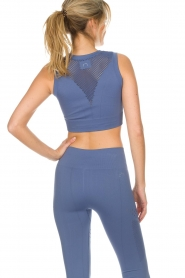 Varley |  Sports bra with cut-out details Langley | blue  | Picture 5