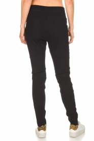 D-ETOILES CASIOPE |  Wrinkle free stretch pants Phe Plus | black  | Picture 5