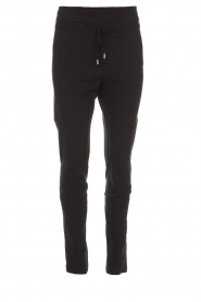 D-ETOILES CASIOPE |  Wrinkle free stretch pants Phe Plus | black  | Picture 1