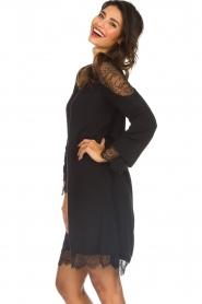 Hale Bob |  Dress with lace details Margaret | black  | Picture 5