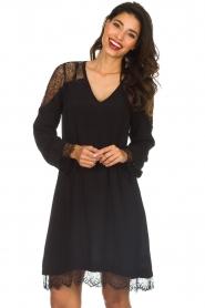 Hale Bob |  Dress with lace details Margaret | black  | Picture 2