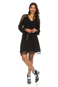 Hale Bob |  Dress with lace details Margaret | black  | Picture 3