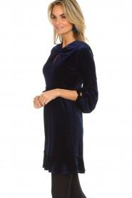 Hale Bob |  Velvet dress Emily | navy  | Picture 4