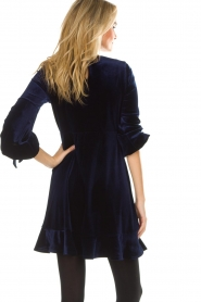 Hale Bob |  Velvet dress Emily | navy  | Picture 7