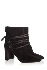 What For |  Leather ankle boots Micky | black  | Picture 4