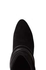 What For |  Leather ankle boots Micky | black  | Picture 5