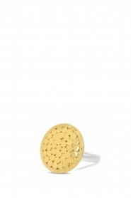 Close to Zen |  22k gold plated ring Earth | gold  | Picture 1