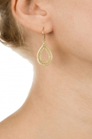 Close to Zen |  22k gold plated earrings Dancing in the Rain | gold  | Picture 3