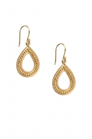 Close to Zen |  22k gold plated earrings Dancing in the Rain | gold  | Picture 1