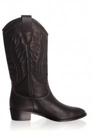 Toral | Leren laarzen Jamy | zwart  | Afbeelding 4