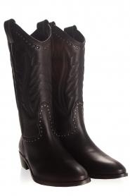 Toral | Leren laarzen Jamy | zwart  | Afbeelding 5
