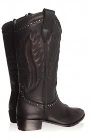 Toral | Leren laarzen Jamy | zwart  | Afbeelding 6