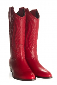 Toral |  Leather boots Jamy | red  | Picture 5