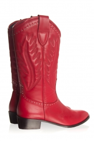 Toral |  Leather boots Jamy | red  | Picture 6