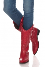 Toral |  Leather boots Jamy | red  | Picture 3