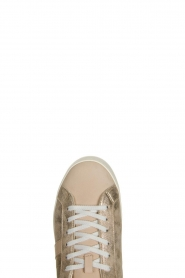 D.A.T.E |  Metallic sneakers Stardust | goud  | Picture 5