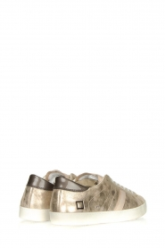 D.A.T.E |  Metallic sneakers Stardust | goud  | Picture 4