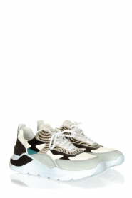 D.A.T.E |  Sneakers with zebra print Fuga   | Picture 4
