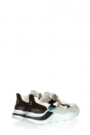 D.A.T.E |  Sneakers with zebra print Fuga   | Picture 5