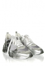 IRO : Metallic snakers Runner | silver - img4