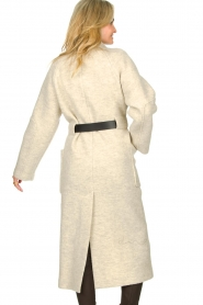 ba&sh |  Belted wool coat Come | natural  | Picture 7