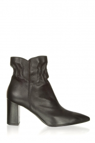 Janet & Janet |  Leather ankle boots Toya | black  | Picture 1