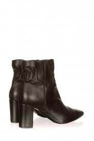 Janet & Janet :  Leather ankle boots Toya | black - img4