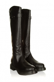 Janet & Janet |  Leather boots Nelly | black  | Picture 3