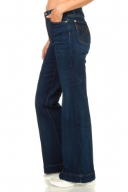 7 For All Mankind |  L34 Flared jeans Dojo | blue  | Picture 5