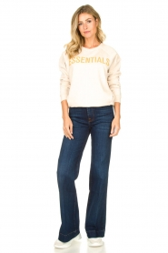 7 For All Mankind |  L34 Flared jeans Dojo | blue  | Picture 3
