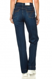 7 For All Mankind |  L34 Flared jeans Dojo | blue  | Picture 7